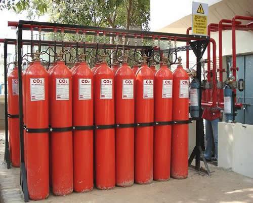 yangın tesisatı ve söndürme sistemleri tüpleri