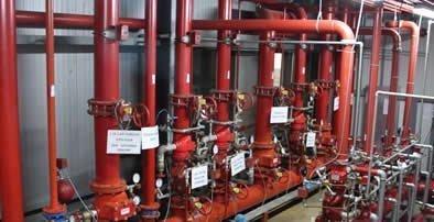 yangın tesisatı ve söndürme sistemleri bağlantıları
